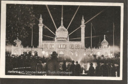 Köbenhavn. Tivoli Koncertsalen I Tivoli Illumineret. Stamp Afa 224 - Denemarken