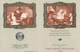 FRANCE : Croix Rouge : Y&T : 1366**1367** - Libretti
