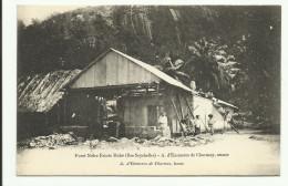 Cpa SEYCHELLES, Foret Noire Estate Mahé - Seychellen