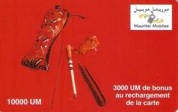 *MAURITANIA* - Scheda Usata - Mauritanien