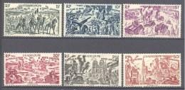 Guadeloupe: Yvert N° A 7/12* - Guadeloupe (1884-1947)
