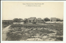 Cpa SEYCHELLES, Camp Of Labourers Astove-Island 1907 - Seychellen