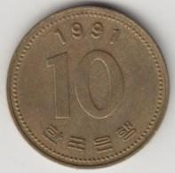 @Y@    Korea  Zuid  10 Won    1991     (4039) - Korea (Zuid)