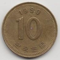 @Y@    Korea  Zuid  10 Won    1990     (4040) - Korea (Zuid)