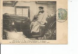 71 -Le Creusot - Visite De S.A.R. Mgr Le Prince Ferdinand 1er De Bulgarie - Aux Usines De M.M. Schnneider Au Creusot - Le Creusot