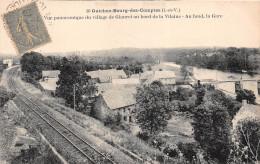 - 10 - GUICHEN - BOURG-des-COMPTES - Vue Panoramique Du Village De GLANETau Bord De La Vilaine - Au Fond, La Gare - France
