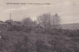 19. PEYRLEVADE. CPA . LE RAT LA CHAPELLE ET LE CALVAIRE. DATEE 1932 - Autres Communes
