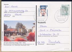 GERMANY - Ganzsachen - Cartolina Intero Postale -  100 Jahre SEBASTIAN KNEIPP - Alimentation