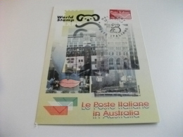 STORIA POSTALE FRANCOBOLLO COMMEMORATIVO SIMBOLO ITALIA LE POSTE ITALIANE IN AUSTRALIA MELBOURNE - Melbourne