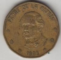 @Y@    Dominicaanse Republiek   1 Peso   1993     (4016) - Dominicaanse Republiek