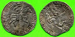 [DO] DESANA - Giov. Bartolomeo Tizzoni (1525-33)  CORNABO´ (Argento / Argent) - Feudal Coins