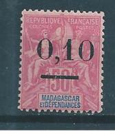 Colonie  Madagascar  De 1902  N°53 (gros Zéro)  Neuf * - Neufs