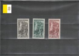 Vatican 1950 MNH ** Sass. 140-42 Série Complète (vat062) - Ongebruikt