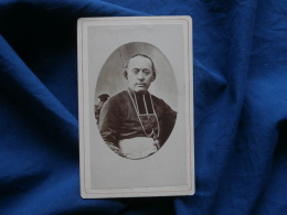 Photo CDV Anonyme - Monseigneur Freppel, Religieux Circa 1870 L286 - Antiche (ante 1900)