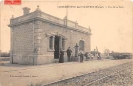 69 - Rhône - Saint Etienne Des Oullières - Cliché Original - Gare - Ligne Villefranche à Beaujeu Et à Monsols - Sonstige Gemeinden