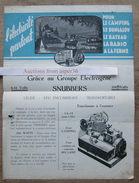 Groupe Electrogène Snubbers, Avenue Louise, Bruxelles - Vieux Papiers
