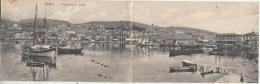 Mételin - Panorama Des Quais - Carte Panoramique 2 Volets - 1909 - Edit. Epanrinondas Tchivoglou (Mételin) - Turquie