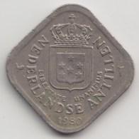 @Y@        Nederlandse Antillen  5 Cent   1980        (4035) - Antilles