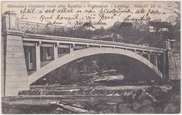 Slovenia - Podbrezje (Bistrica, Naklo - Feistritz) - Brücke über Den Fluss Bistrica - Gelaufen 1911 - Slowenien