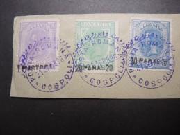 ROUMANIE - Timbres Du Levant Roumain (en Turquie) Avec Belle Oblitération Du Bureau Cospoli - Lot N° 21321