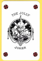 The Jolly Joker - Noir Avec étoiles Rouges Et Noires - Verso Club Med - Speelkaarten