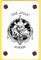 The Jolly Joker - Noir Avec étoiles Rouges Et Noires - Verso Le Bridgeur - Speelkaarten