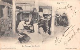 ¤¤  -   L'AUVERGNE   -   Le Ferrage Des Boeufs   -  Agriculture   -  Maréchal Ferrant    -  ¤¤ - Frankreich