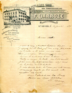 40.LANDES.SAINT SEVER.HOTEL & CAFE DES AMBASSADEURS.F.DARROZE. - Non Classificati