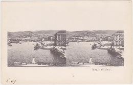Italia - Trieste, Trst, Triest (Stereoskopie Karte) 1902 - Trieste (Triest)