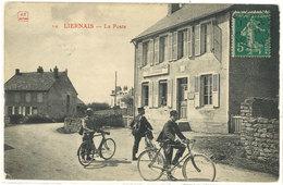 Cpa Liernais - La Poste ( Facteurs )      ((S.1101)) - France