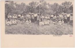 Bosna I Hercegovina - Ganosa Zenci (Stereoskopie Karte) 1902 - Bosnien-Herzegowina