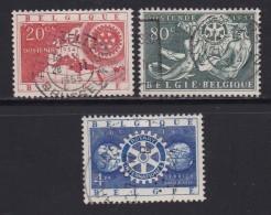 BELGIUM, 1954, Used Stamp(s), Europe Conference,    MI 1001-1003, #10355, Complete - Belgium