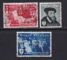 BELGIUM, 1955, Used Stamp(s), Garden Show,  MI 1013-1015, #10357, Complete - Belgium