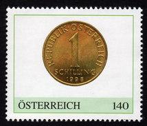 ÖSTERREICH 2015 ** Österreichische Schilling Münze - PM Personalized Stamp MNH - Private Stamps