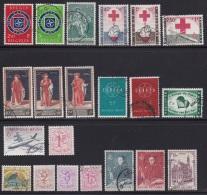 BELGIUM, 1959, Used Stamp(s), Various,   MI 1143=1174, #10363, 21 Values Only - Belgium