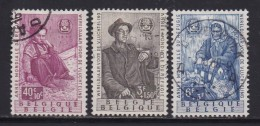 BELGIUM, 1960, Used Stamp(s), Refugee Year,   MI 1182-1184, #10265, Complete - Belgium