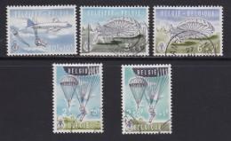 BELGIUM, 1960, Used Stamp(s), Culture Serie,   MI 1190=1195, #10367,  5 Values Only - Belgium