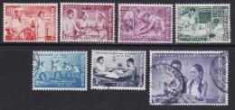 BELGIUM, 1960, Used Stamp(s), Congo Independent,   MI 1198=1205,  #10368, 7 Values Only - Belgium