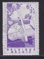 BELGIUM, 1960, Used Stamp(s), Congo National Commitee,   MI 1208,  #10369, 1 Value Only - Belgium