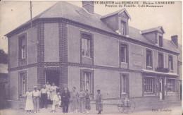 76  Saint Martin Aux Buneaux Maison Langlois Pension De Famille Cafe Restaurant - France