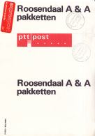 Nederland - Postale Etiketten - Geleidekaart Pakketten - Roosendaal - Gebruikt - Post