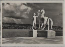 Landesausstellung Expo 1939 - Plastik Von Bänninger (linkes Ufer) Z25e W29 - ZH Zurich