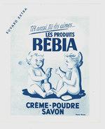 Buvard Produits Bébia, Crème, Savon, Poudre - Buvards, Protège-cahiers Illustrés