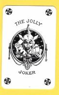 The Jolly Joker - Noir Avec étoiles Noires - Verso Voyages Dubray Charleroi, Mont-Sur-Marchienne - Speelkaarten
