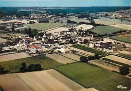 -ref-T132-  Indre Et Loire - Cravant Les Coteaux - Vue Generale Aerienne - Carte Bon Etat - - Altri Comuni