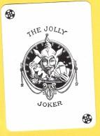 The Jolly Joker - Noir Avec  2 étoiles Noires - Verso Bleu - Speelkaarten