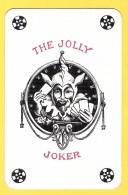 The Jolly Joker - Noir écrit En Rouge Avec 4 étoiles Noires - Verso TMT Tigre, Tiger - Speelkaarten