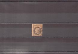 FRANCE 1867 N° 30 OBLITERE - 1863-1870 Napoléon III Lauré