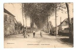 10 - LUSIGNY SUR BARSE ROUTE NATIONALE - ÉDITIONS GARCEAU - POUR CRÉCY AU MONT  - 2 Scans - - France