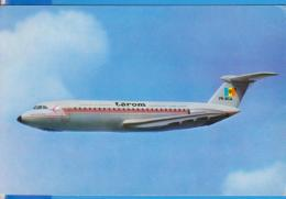 AIR TAROM  AVION PLANE BAC1-11 ROMANIA POSTCARD UNUSED - 1946-....: Moderne
